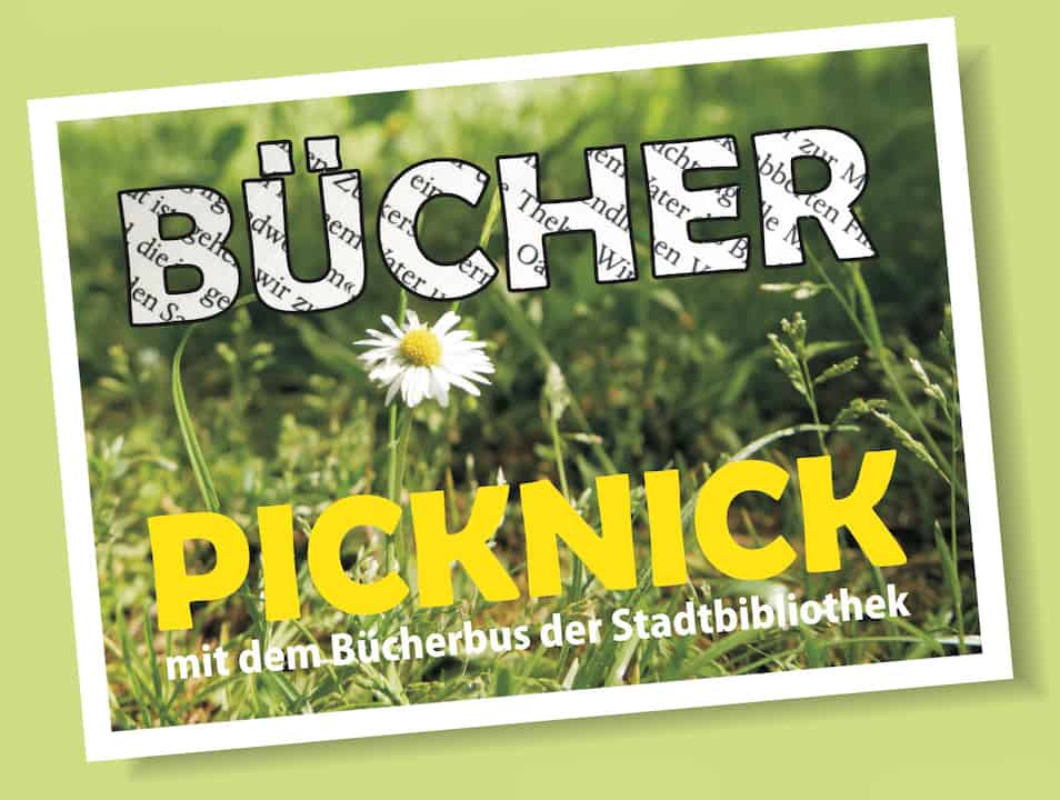 Bücher Picknick Chemnitz