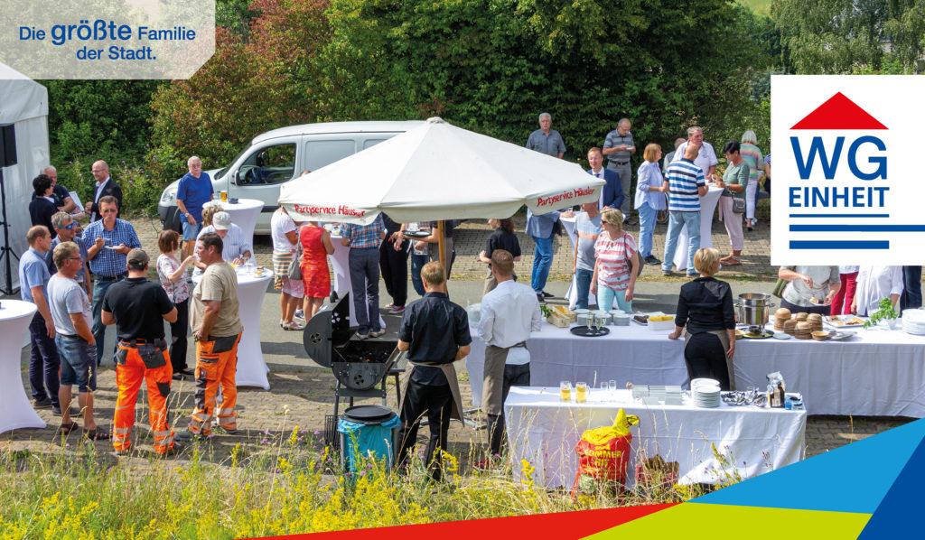 Zahlreiche Gäste erschienen zum Sommerfest des Panorama³
